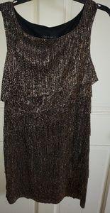 Dresses & Skirts - Sliver and gold shimmer dress